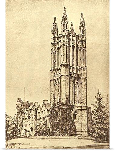 ernest-roth-poster-print-entitled-cathedral-at-princeton-university