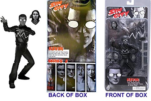 Sin City Kevin 6 Inch EXCLUSIVE Action Figure(#A) With Victim Head - NECA REEL TOYS 2005 - UNCIRCULATED Factory Sealed - Graded 9.8