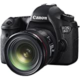Canon EOS 6D with EF 24-70mm F4L IS USM Lens - International Version (No Warranty)