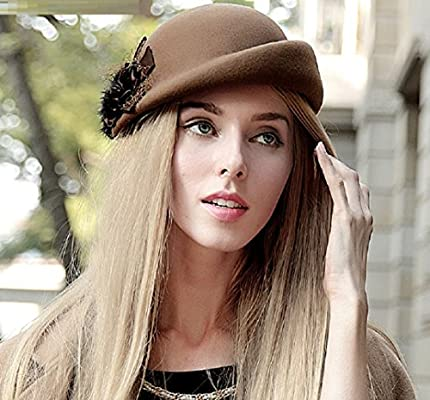 VIOY Otoño e Invierno Flores Boinas Inglaterra Sombreros Sombreros Elegantes  0f64612d5daa
