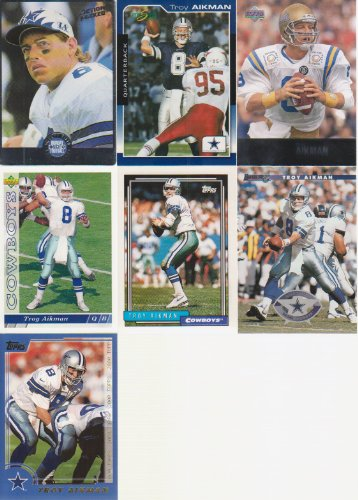Troy Aikman 8 Card Lot Action Packed by The Sports Page
