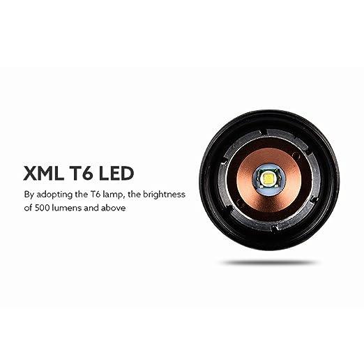 Amazon.com: Orcbee X800 Shadowhawk 6000 lm linterna táctica ...