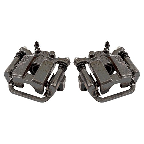 CKOE00947 [ 2 ] REAR Premium Grade OE Semi-Loaded Caliper Assembly Pair Set