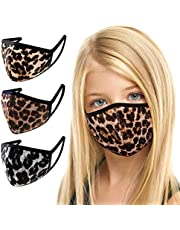3 Pack Made in USA Kids/Youth 3D Face Mask – Protective, Reusable, Comfortable and Breathable Mouth and Nose Cover