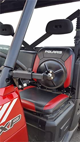 """Polaris Ranger Smack Back Mirrors for PRO-FIT Cages 5-1//2/"""" Round Set two"""