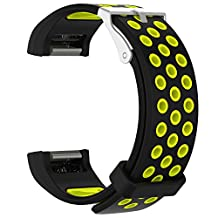 Chofit Charge 2 bands Soft Silicone Replacement watch band Sport Wristband with Air Hole Style Strap for Fitbit Charge 2 HR Fitness Tracker