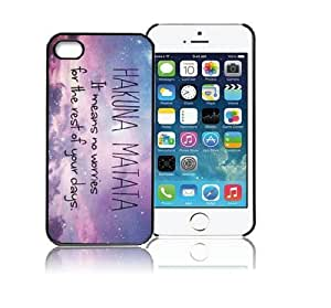ABC Hakuna Matata Galaxy Star Hard Case Cover for Iphone 5 5g 5s