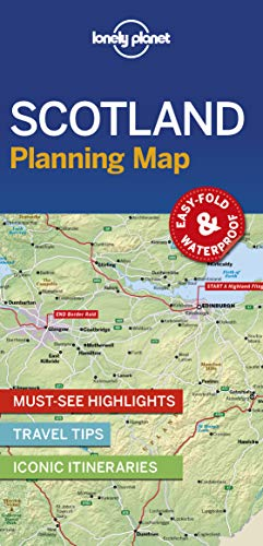 (Lonely Planet Scotland Planning Map)