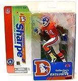 McFarlane Toys NFL Sports Picks Collectors Club Exclusive Action Figure Shannon Sharpe (Denver Broncos) Orange Retro Jersey