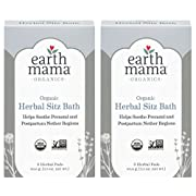 Earth Mama Angel Baby Postpartum Bath Herbs, 6 Count (Pack of 2)