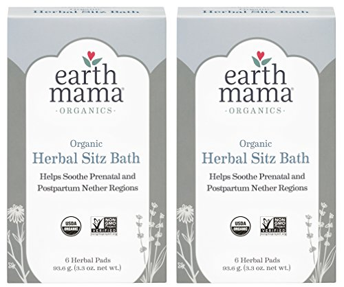 Clawfoot Bath Personal - Earth Mama Angel Baby Postpartum Bath Herbs, 6 Count (Pack of 2)