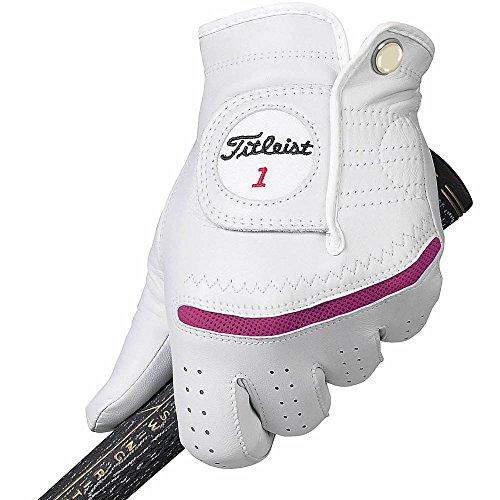 Titleist Perma Regular Soft Golf Gloves 2015 Ladies Right Dark Fuchsia Large