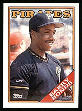 8bcd13fc5c1 1988 Topps   450 Barry Bonds Pittsburgh Pirates (Baseball Card) Dean s Cards  8 -