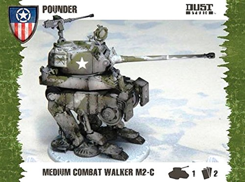 Dust Tactics Model Kit - Medium Combat Walker M2-c Pounder - D501 - New