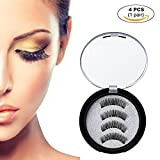 Homcarinne Magnetic Eyelashes 3 Magnets,Best Fake Lashes Extensions 3D Reusable