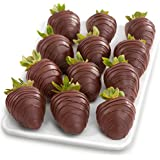 12 Dreamy Dark Chocolate Covered Strawberries