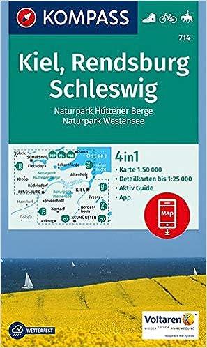 Kiel Rendsburg Schleswig 1 50 000 Wandelkaart 1 50 000 Dutch