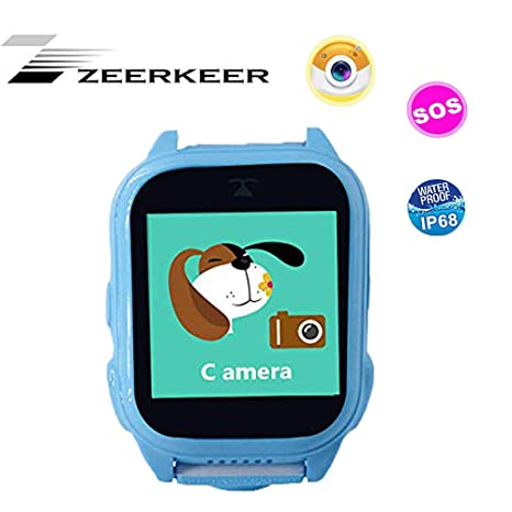 Amazon.com: ZEERKEER Kids Smart Watch Sport Outdoor Anti ...