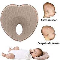 Bebé almohada, Almohada para dar forma a la cabeza del bebé recién nacido 0~12 Meses, Almohada para bebé para la prevención del síndrome de la cabeza plana, Almohada infantil Premium Foam Memory Foam para la almohada de apoyo para la cabeza y el cuello,Baby Pillow