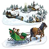 Beistle Holiday Village and Sleigh Ride Props
