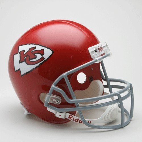 NFL Riddell Kansas City Chiefs Red 1963-1973 Throwback Replica Full-Size Helmet by Riddell