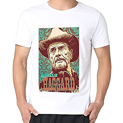 Boys Merle Haggard Country Music Legend Fan Political Shirts.