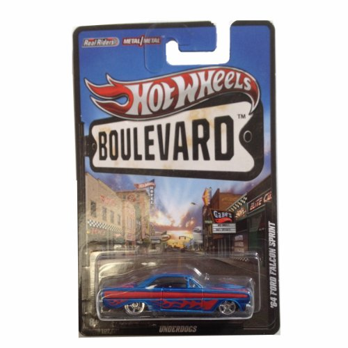 '64 Ford Falcon Sprint Underdogs 2012 Hot Wheels Boulevard Die-Cast Toy Car by Mattel (Ford Falcon Set)