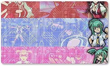 Alfombrilla de juego Yugioh para juegos de mesa de 60 x 35 cm, alfombrilla de juego para Yu-Gi-Oh! Pokemon Magic The Gathering: Amazon.es: Oficina y papelería