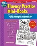 Fluency Practice Mini-Books, Kathleen M. Hollenbeck, 0439554187