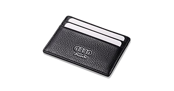 Amazon.com: Audi Slim - Funda de piel con 4 ranuras para ...