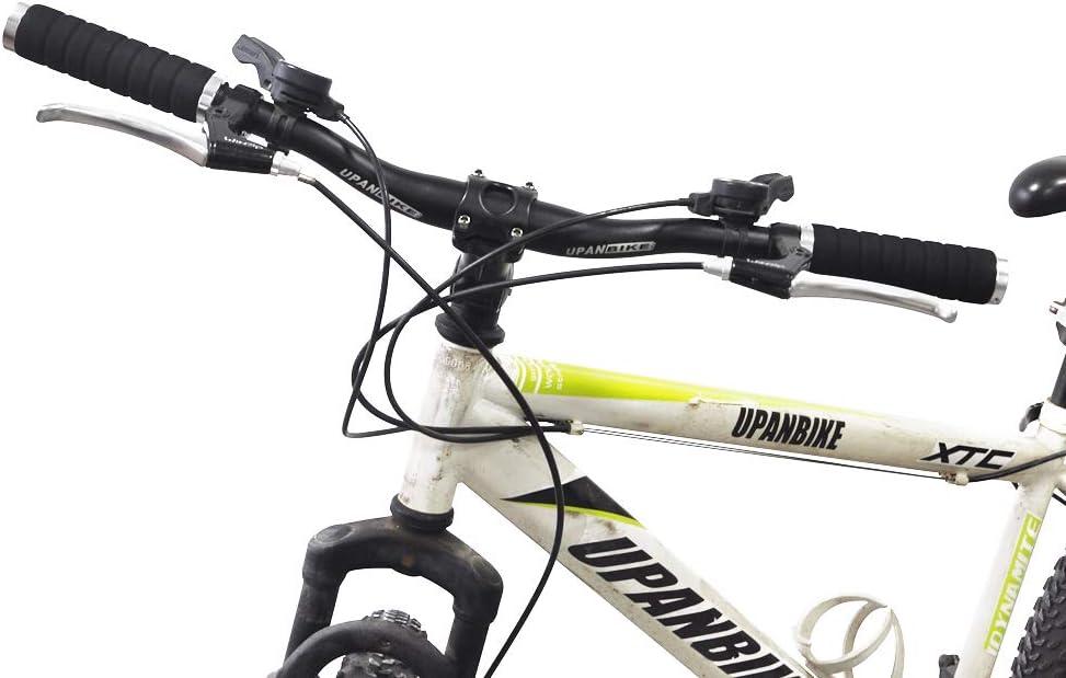 UPANBIKE Bike Grips Soft EVA Foam Sponge Double Lock On Handlebar Grips for 22.2mm Handlebar