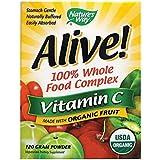 Nature's Way Alive! Organic Vitamin C 120g, Powder