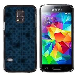 Caucho caso de Shell duro de la cubierta de accesorios de protección BY RAYDREAMMM - Samsung Galaxy S5 Mini, SM-G800 - Simple Pattern 11