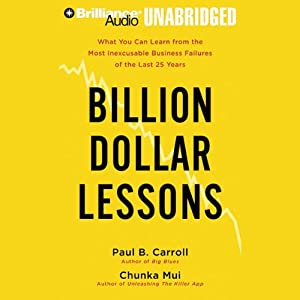 Billion Dollar Lessons Audiobook
