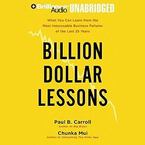 Billion Dollar Lessons Hörbuch