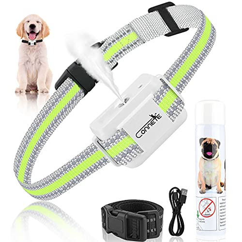 Auto Citronella Spray Bark Collar for Dogs, [Include 1 Can Citronella Spray Refill] Spray Dog Training Collar, Humane…