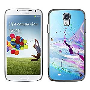 Hot Style Cell Phone PC Hard Case Cover // M00100219 abstract cgi artistic // Samsung Galaxy S4 i9500
