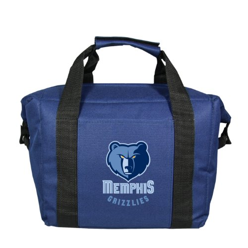 NBA Memphis Grizzlies Soft Sided Cooler Bag, Holds 12 Cans by Kolder