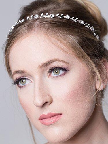 SWEETV Sparkly Rhinestone Headband Accessories