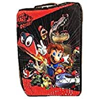 4SGM Super Mario Odyssey Rolling Luggage for Kids