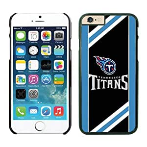 Tennessee Titans iPhone 6 Plus NFL Cases 08 Black 5.5 Inches NIC13370