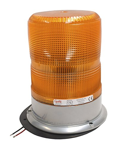 Grote 77673 Yellow High Profile High-Intensity Smart Strobe (Class I)