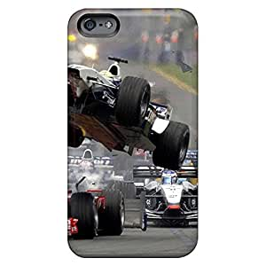 Iphone Covers Cases - Formula 1 Accidente Protective Cases Compatibel With Iphone 5/5s