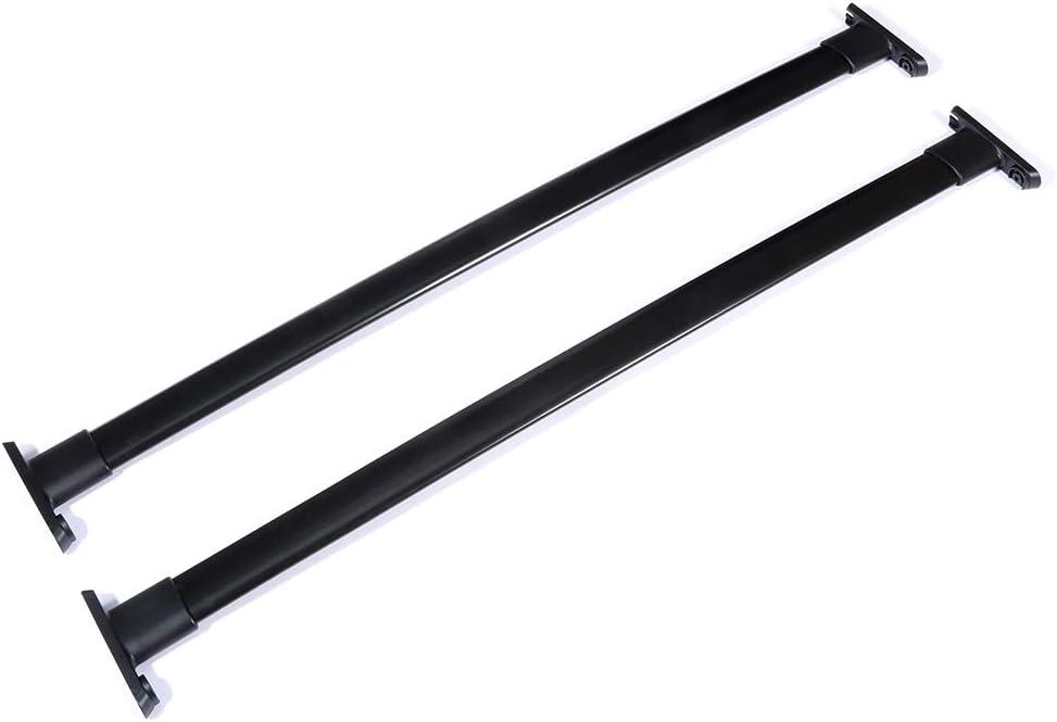 SCITOO fit for 2011 2012 2013 2014 2015 Ford Explorer Aluminum Alloy Roof Top Cross Bar Set Rock Rack Rail