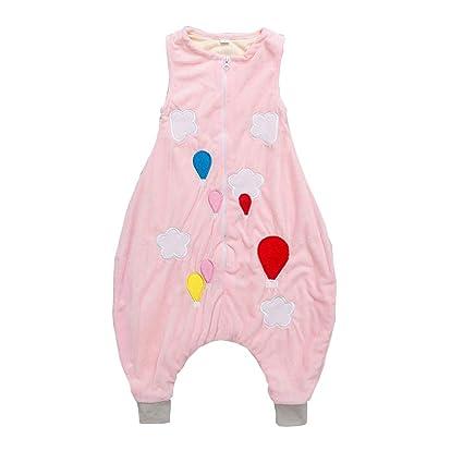 Bebé Sacos Dormir Pierna Algodón Suenos Otoño E Invierno para Recién Nacido Pijama Cómodo, Transpirable