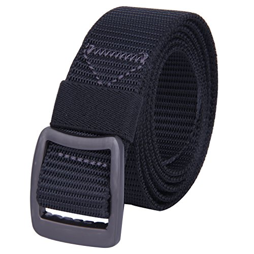 ROFIFY Nylon Canvas Military Tactical Men Waist Belt With Metal Buckle Tip 49