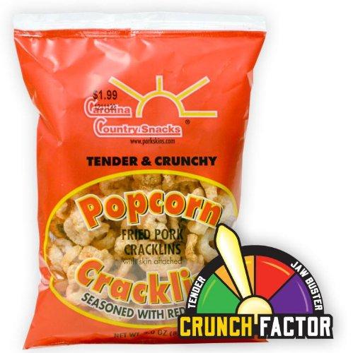 Popcorn Cracklins Red Pepper 12 bags (3oz)