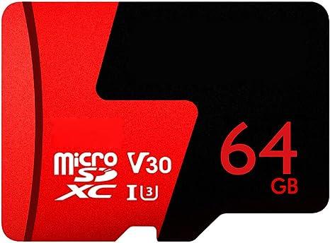 10 Tarjeta de Memoria UHS V30 64 128 GB Flash Tarjeta Micro SD ...
