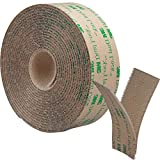 Picture Hanging Strips: Wall Hangers Without Nails, 1 in x 6 feet 3M Roll, Brown, Damage Free Picture Hanging Roll