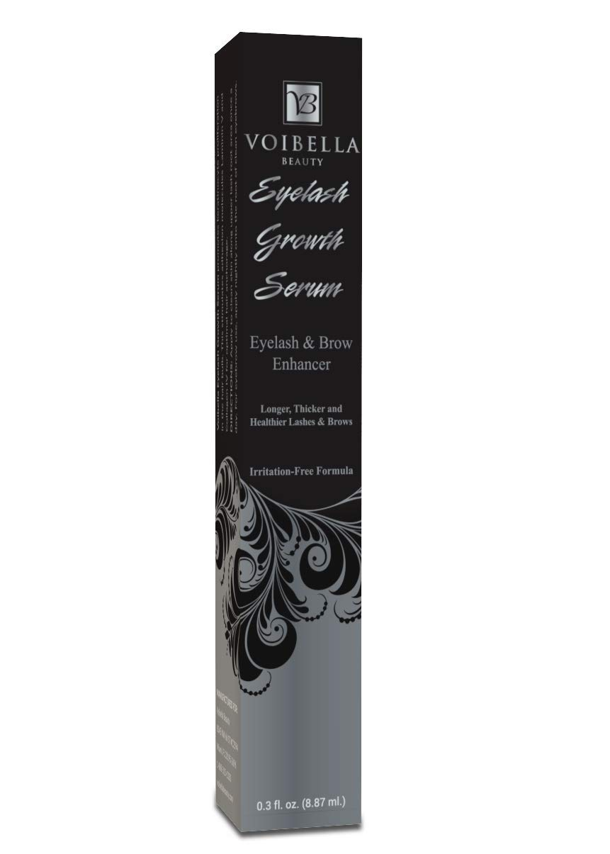 1a98d429fff Voibella Eyelash Growth Serum & Eyebrow Enhancer – Best Natural Eye Lash  Enhancing & Rapid Brow Growing ...